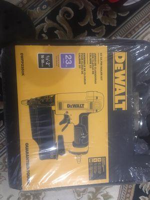 Dewalt air gun 23 GA for Sale in Alexandria, VA