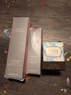 Mary Kay Timewise Set and Thinking of You Perfume for Sale in Irving, TX