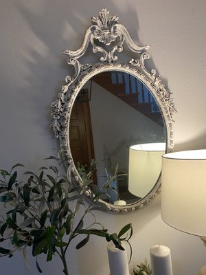 Antique shabby chic mirror for Sale in Stanwood, WA