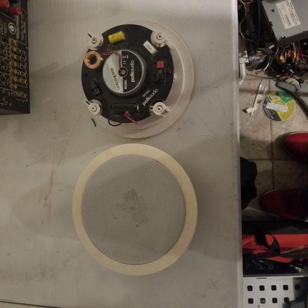 Polk audio ceiling speakers 1 pair
