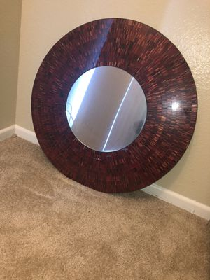 Burgundy wall mirror for Sale in Fullerton, CA