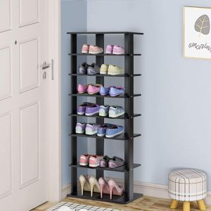 7-Tier Dual 14 Pair Shoe Rack Free Standing Concise Shelves Storage for Sale in Wildomar, CA