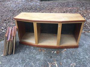 Rolling cabinet with shelves for Sale in Woodstock, GA