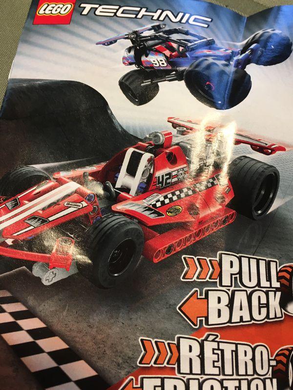 Lego technic race car