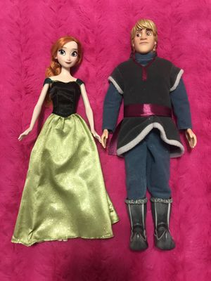 Disney Frozen Dolls | Anna & Kristoff for Sale in Miami, FL