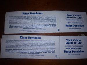 Kings diminion tickets for Sale in Richmond, VA