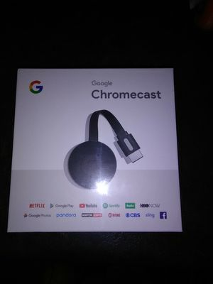 Google chromecast new for Sale in Medina, OH