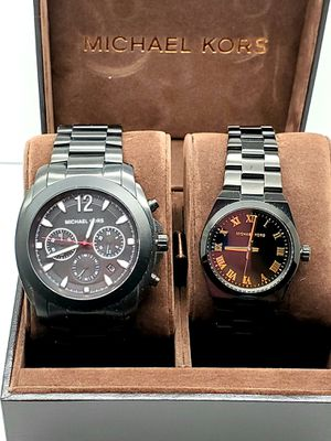 NEW MICHAEL KORS GIFT SET HIS AND HER WATCHES. BRAND NEW WITH TAGS for Sale in Arlington, TX