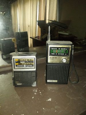 Two portable radios... for Sale in Chicago, IL