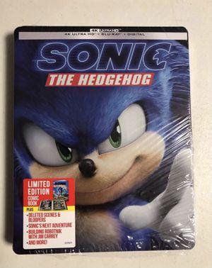 Sonic The Hedgehog 4K Steelbook for Sale in San Diego, CA