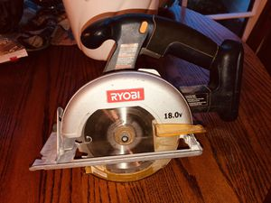 Ryobi 18v battery operated skill saw. for Sale in Portland, OR