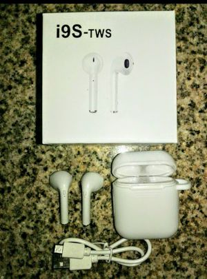 NEW Sealed TWS I9 airpods /earphones . works on Android and iPhone Pic is just to display item contents brand new for Sale in Phoenix, AZ