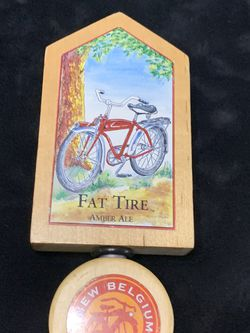 Beer Tap Handle Fat Tire New Belgian Brewing for Sale in Sacramento,  CA
