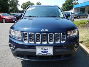 2014 Jeep Compass Limited 4WD, Leather, Navigation for Sale in Fairfax, VA