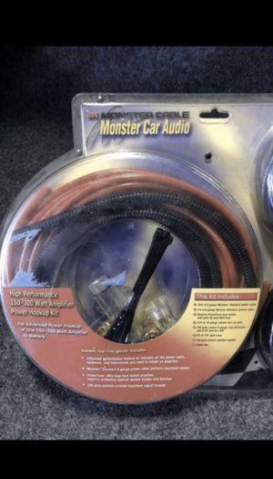 Amp power kit 8 gauge for Sale in Diamond Bar, CA