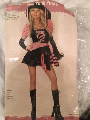 Costume / Pink Punk Pirate for Sale in Smyrna, TN