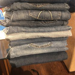 Sz 12 L Womens Jeans. 10 Of Them! All In Very Good Condition! All For $85 for Sale in Oklahoma City,  OK