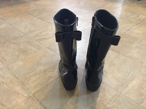 Girls black boots size 13 for Sale in Mesa, AZ