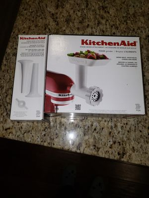 Kitchenaid Grinder and stuffer for Sale in Winchester, CA
