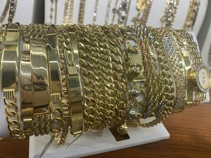 14k 10k Real gold Bracelets, Necklaces, Rings, Earrings and Pendants for Sale in Richardson, TX