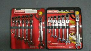 Craftsman 7 pc. Metric Locking Flex Ratcheting Combination Wrench Set for Sale in Boston, MA