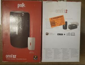 Polk Audio Omni S2 Compact Wireless Wi-Fi Music Streaming Speaker with Play-Fi for Sale in North Las Vegas, NV