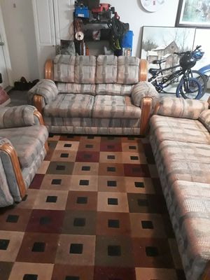 3 piece couch set for Sale in Tracy, CA