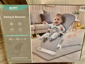 Ronbei baby swing and bouncer for Sale in San Diego, CA