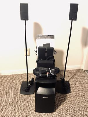 BOSE ACOUSTIMASS 10 SERIES IV HOME ENTERTAINMENT SYSTEM for Sale in San Diego, CA