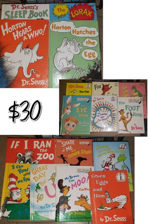 Dr Seuss books for Sale in Riverbank, CA