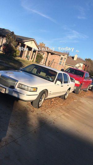 Lincoln Town Car for Sale in Dallas, TX