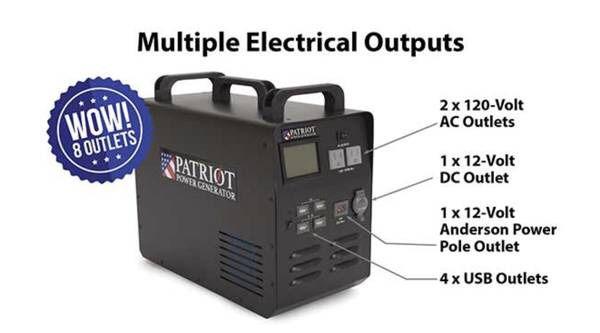 Patriot power solar panels generator