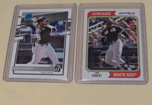 Luis Robert rookie baseball cards for Sale in Tacoma, WA