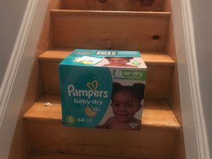 Pampers baby diapers for Sale in The Bronx, NY
