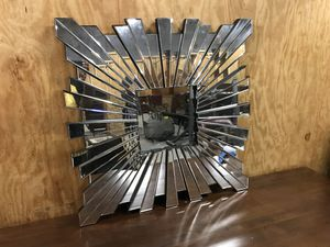 """Huge 35.5"""" x 35."""" Starburst Wall Mirror (Heavy) $75.00 for Sale in Baltimore, MD"""