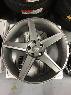 "Brand New 20"" Inch Momo Stealth Satin Grey 20X8.5 Wheels Rims Rines 5X114.3 5X4.5 Dodge Challenger for Sale in Austin, TX"