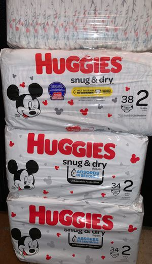 Huggies size 2 for Sale in Los Angeles, CA