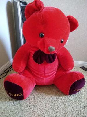 Huge red Teddy Bear for Sale in Austin, TX