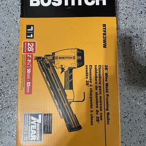Bostitch 28-Degree Pneumatic Framing Nailer for Sale in Lemont, IL