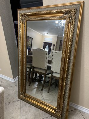 Large gold mirror for Sale in San Antonio, TX