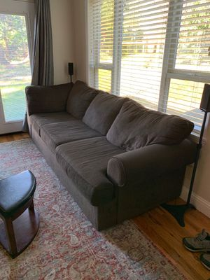 Brown couch 2 piece for Sale in Portland, OR