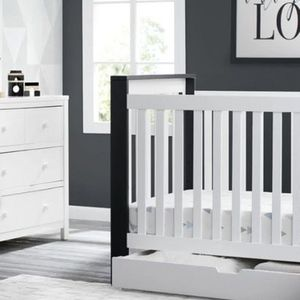 Miles 4-in-1 Convertible Baby Crib By Delta Kids for Sale in Canonsburg, PA
