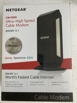 Cable modem. DOCSIS 3.1 for Mediacom for Sale in Marion, IA