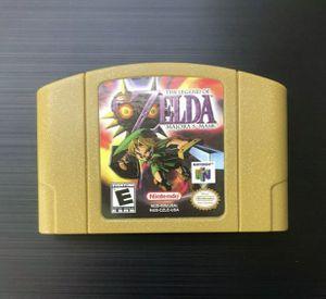 Legend of Zelda: Majora's Mask (Nintendo 64, 2000) N64 - Tested, Great Gift! for Sale in Pembroke Pines, FL