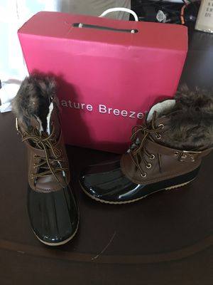 Blue faux fur Duck boots for Sale in Largo, FL