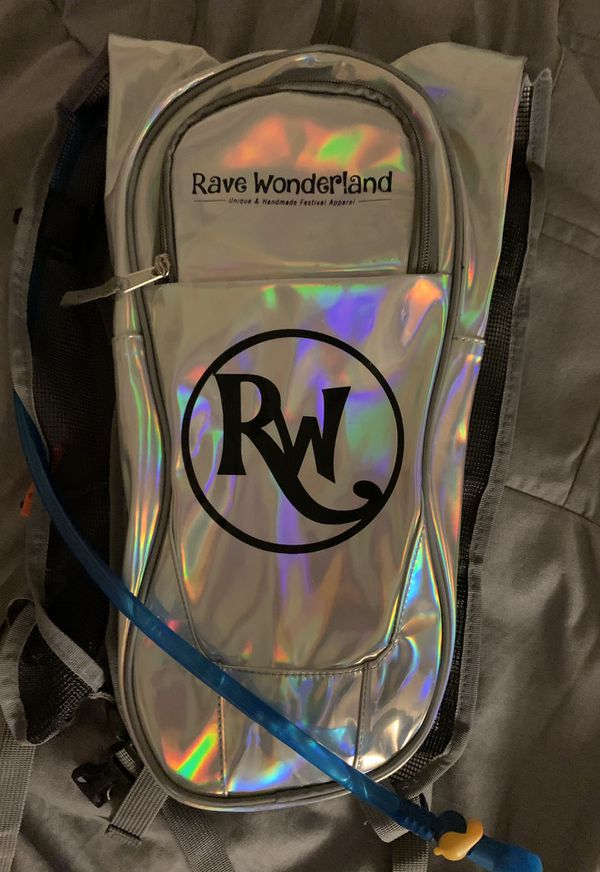 Iridescent Hydration Water Backpack