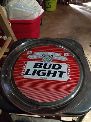 Collectable Bud Light Glass Pkate for Sale in Columbia, SC