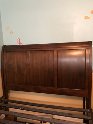 Wooden bed frame for Sale in Maryland Heights, MO