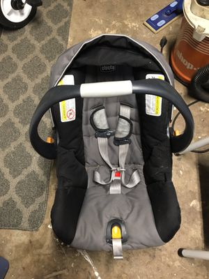 CHICCO key fit 30 infant car seat with base for Sale in Los Angeles, CA