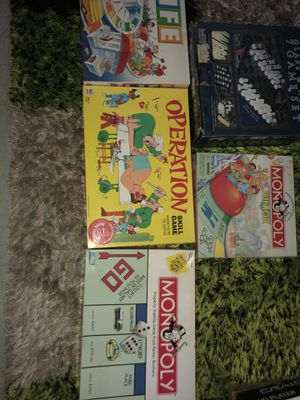 Board games-all for $10. for Sale in Everett, WA